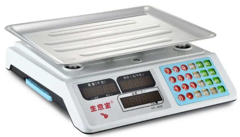 <strong>Grocery Store Digital Food Scale Pricing Computer ACS-829</strong>